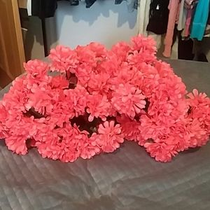 Coral Artificial Flowers